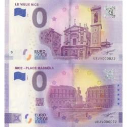 Euro banknote memory - 06 - Nice - Place Masséna - Vieux Nice - Nb 22