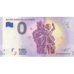 Euro banknote memory - 13 - Notre-Dame-de-la-Garde et l'ange - 2018-5 - Nb 56