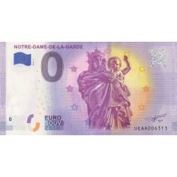 Euro banknote memory - 13 - Notre-Dame-de-la-Garde - 2019-5 - Nb 13