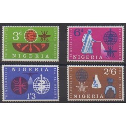 Nigeria - 1962 - Nb 124/127 - Health