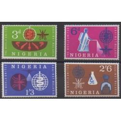 Nigeria - 1962 - No 124/127 - Santé ou Croix-Rouge