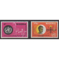 Nigeria - 1968 - No 215/216 - Santé ou Croix-Rouge