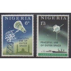 Nigeria - 1963 - Nb 139/140 - Space