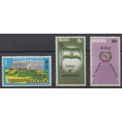 Nigeria - 1973 - Nb 298/300 - Various Historics Themes