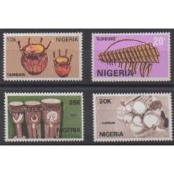 Nigeria - 1989 - No 537/540 - Musique
