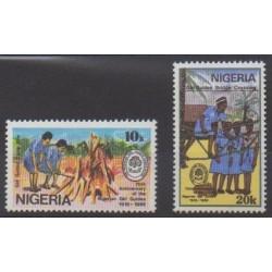 Nigeria - 1989 - No 545/546 - Scoutisme