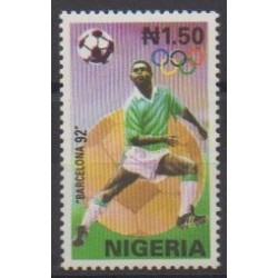 Nigeria - 1992 - Nb 581 - Summer Olympics - Football
