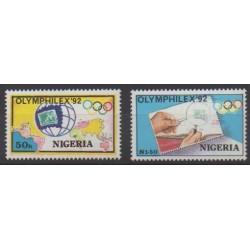 Nigeria - 1992 - No 586/587 - Philatélie