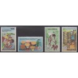 Nigeria - 1992 - No 582/585 - Fruits ou légumes