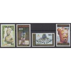 Nigeria - 1993 - Nb 612/615 - Art