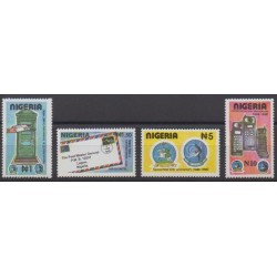 Nigeria - 1995 - Nb 637/640 - Postal Service