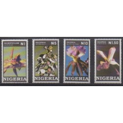Nigeria - 1993 - Nb 616/619 - Orchids