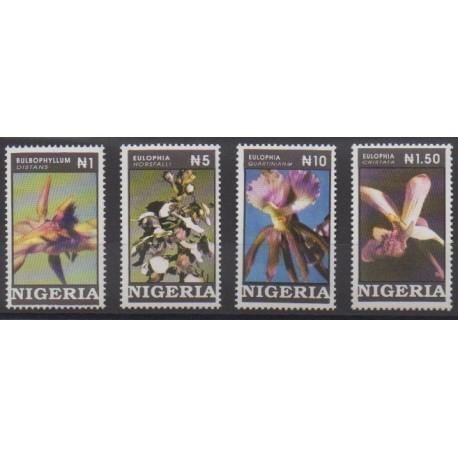 Nigeria - 1993 - No 616/619 - Orchidées
