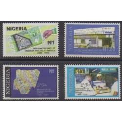 Nigeria - 1994 - Nb 622/625 - Philately