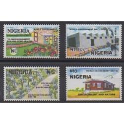 Nigeria - 1993 - Nb 608/611 - Environment