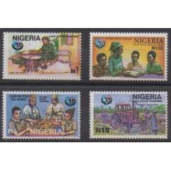 Nigeria - 1995 - No 641/644