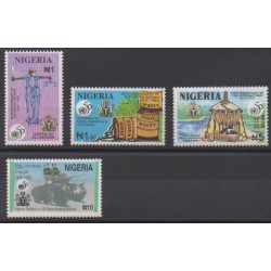 Nigeria - 1995 - No 645/648 - Nations unies