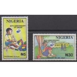 Nigeria - 1996 - Nb 664/665 - Childhood