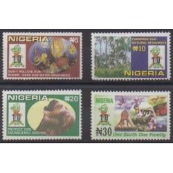 Nigeria - 1999 - No 691/694 - Environnement