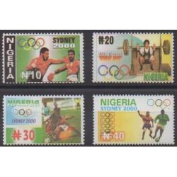 Nigeria - 2000 - No 707/710 - Jeux Olympiques d'été