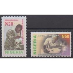 Nigeria - 2003 - No 747/748 - Enfance