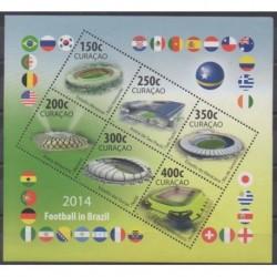 Curaçao - 2014 - No 404/409 - Coupe du monde de football