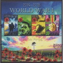 Curaçao - 2015 - No 486/489 - Première Guerre Mondiale