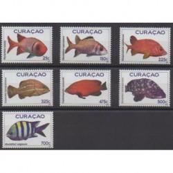 Curacao - 2012 - Nb 250/256 - Sea life