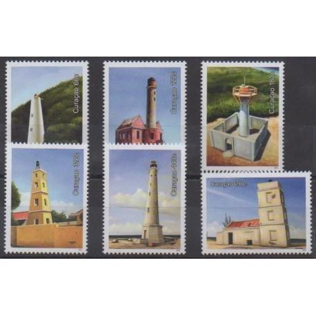 Curaçao - 2018 - No 593/598 - Phares