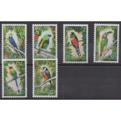 Curaçao - 2020 - No 655/660 - Oiseaux