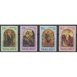 Malawi - 1988 - No 533/536 - Noël