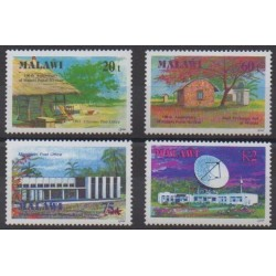 Malawi - 1991 - No 577/580 - Service postal