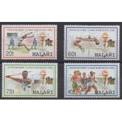 Malawi - 1992 - Nb 609/612 - Summer Olympics