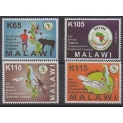 Malawi - 2011 - No 808/811 - Santé ou Croix-Rouge
