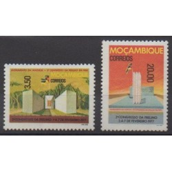 Mozambique - 1977 - Nb 626/627