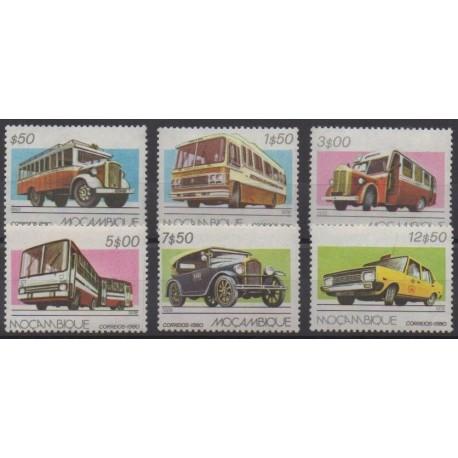 Mozambique - 1980 - No 737/742 - Transports