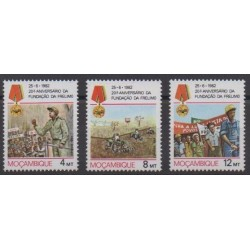 Mozambique - 1982 - Nb 875/877 - Various Historics Themes