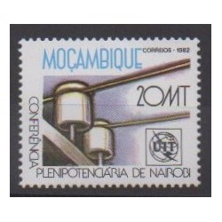 Mozambique - 1982 - Nb 869 - Telecommunications