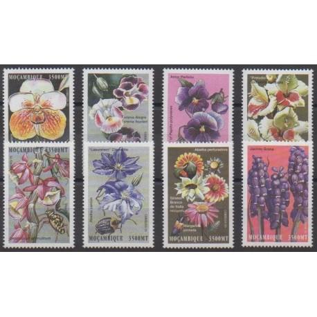 Mozambique - 2000 - No 1474/1481 - Fleurs