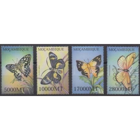 Mozambique - 2002 - No 1826/1829 - Insectes