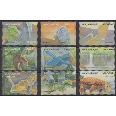 Mozambique - 2002 - No 1769/1777 - Animaux préhistoriques