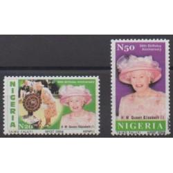 Nigeria - 2006 - Nb 783/784 - Royalty