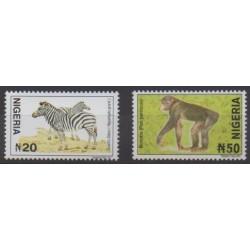 Nigeria - 2005 - Nb 726a et 730a - Mamals