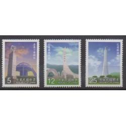 Formosa (Taiwan) - 2000 - Nb 2527/2529 - Monuments