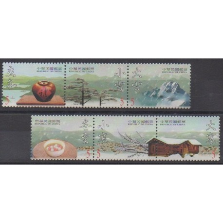 Formose (Taïwan) - 2000 - No 2556/2561