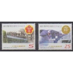Formose (Taïwan) - 2001 - No 2628/2629 - Santé ou Croix-Rouge