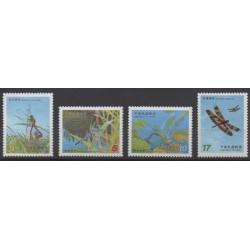 Formose (Taïwan) - 2003 - No 2775/2778 - Insectes