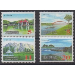 Formosa (Taiwan) - 2003 - Nb 2799/2802 - Sights - Bridges