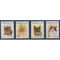 Formosa (Taiwan) - 2006 - Nb 2998/3001 - Cats - Dogs