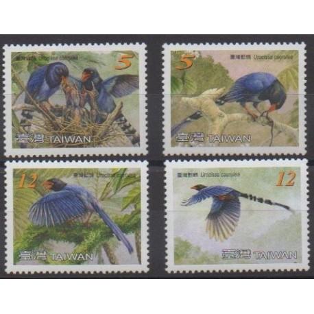 Formose (Taïwan) - 2008 - No 3167/3170 - Oiseaux